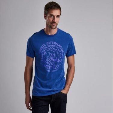 B.Intl X Mutt Tee 인터네셔널 뮤트 티셔츠 블루(BAI1MTS0542BL87)