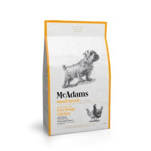 맥아담스 방목 치킨 소형견용 사료 5kg