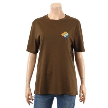 컬러 페인팅 로고 티셔츠 BATS92941