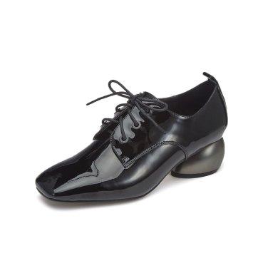 Color block loafer pumps(black) DG1BX19529BLK / 블랙