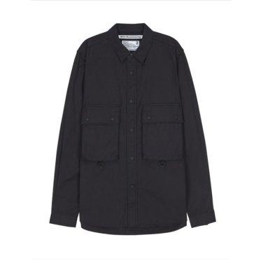 WHITE MOUNTAINEERING 포켓배색 면 긴팔캐주얼셔츠-RASH9F103BK