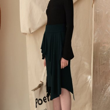 Curtain Skirt [DK Green] (JC18FWSK06_DG)