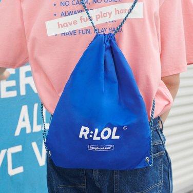 [RLOL] (BG-19309) RLOL LOGO POUCH BAG BLUE