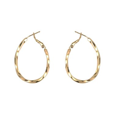 twist ring earrings
