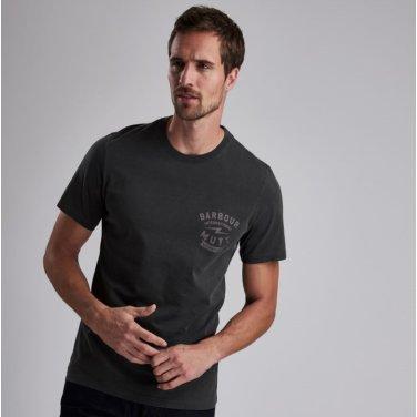 B.Intl X Mutt Tee 인터네셔널 뮤트 티셔츠 블랙(BAI1MTS0542BK31)
