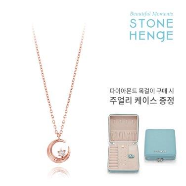 14K 다이아몬드 목걸이 M0652D