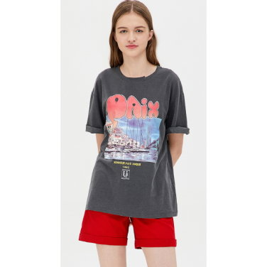 포토 그래픽 루즈핏 티셔츠 BATS48931