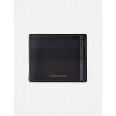 빈폴 헤릿 반지갑 - Black (BE02A3M135)
