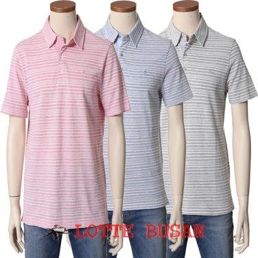 올젠 스트라이프 리플 티셔츠 ZOY2TT1101