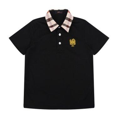 basic체크 카라 티셔츠(DPM10TC18M_BK)