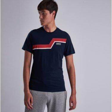 B.Intl Angle Tee 인터네셔널 앵글 티셔츠 네이비(BAI1MTS0528NY91)