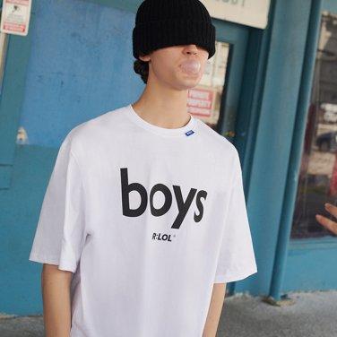 [RLOL] (TS-19301) RLOL BOYS T-SHIRT WHITE
