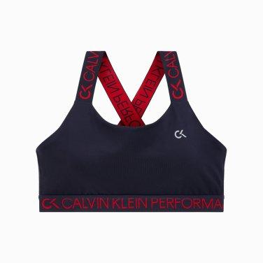여성 로고 테이핑 브라 4WH9K169-484