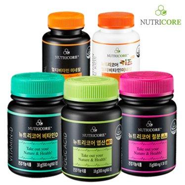 [뉴트리코어] 맥스크릴오일/식물성오메가/칼슘外