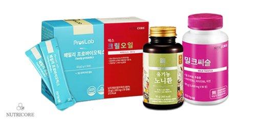 [뉴트리코어] 식물성오메가/칼슘外 추가증정 맛보기!