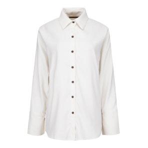 [크림by미니멈] 베이직 무지 카라넥 슬림 셔츠 (CTACWB8410)