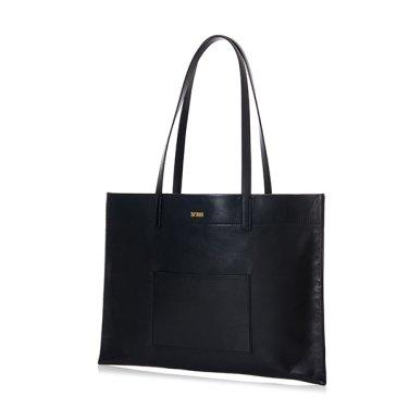 PLENTI SHOPPER BAG BLACK