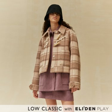 [로우클래식] 19 WINTER LOCLE DUFFLE JACKET_BEIGE CHECK (Z3LCI6CT104)