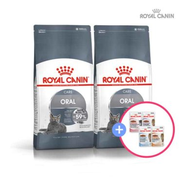 로얄캐닌 센서티브(ORAL SENSITIVE)3.5kg 2팩 + 습식파우치 증정