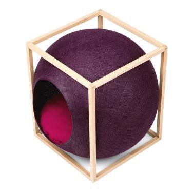 미유파리 더 큐브 우드 플럼