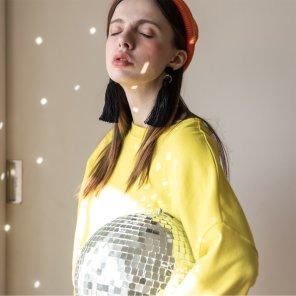 Neon Drop Shoulder Tshirts Lime(2019SSTS320_01)