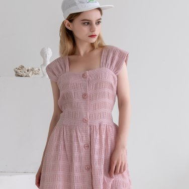 Back Ribbon Sleeveless Dress Pink(2019SUOP320_06)
