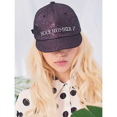 [홀리넘버7] bling bling Hat_Black