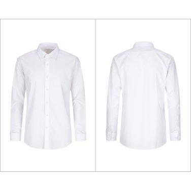 일반핏 화이트 세미 와이드 구김이 없는 드레스셔츠 VRZ5WD1113-WT-SI