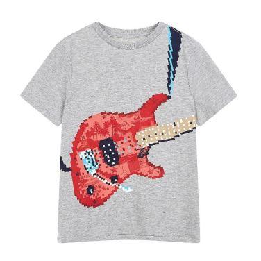 키즈 남아 슬럽 그래픽 반팔 티셔츠 5219226203081