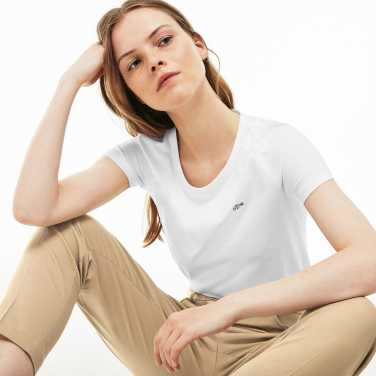 여성 반팔 라운드넥 티셔츠TF3080-19B_001_EE