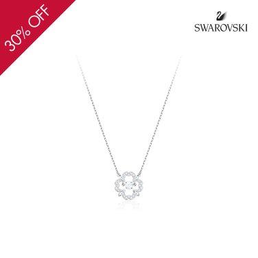 Sparkling Dance Flower 로듐 네크리스 5392759