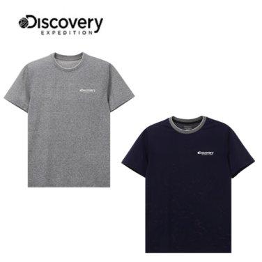 리넨폴리 라운드 티셔츠 (DMRT9Y831)