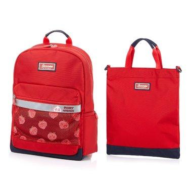 KAKAO 2 APEACH 백팩/보조가방 B SET RED
