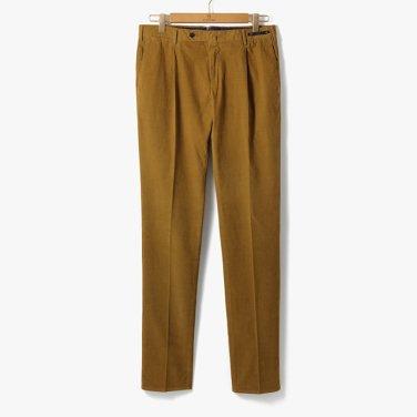 [PT01] SLIM FIT 1 PENCE COTTON PANTS CAMEL/PT92M30005A28
