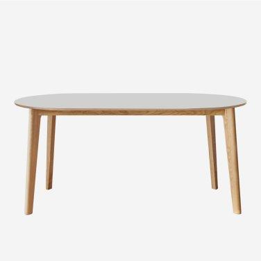 Lino Oval Rectangle Leg Table 1600