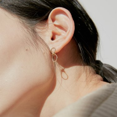 19S NOUER EARRING (GOLD)