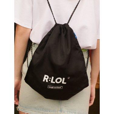 [RLOL] (BG-19309) RLOL LOGO POUCH BAG BLACK