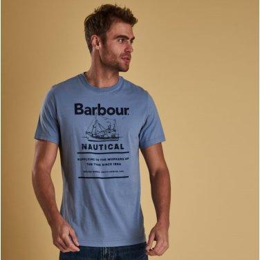 Davan Tee 다본 티셔츠 블루(BAI1MTS0533BL29)
