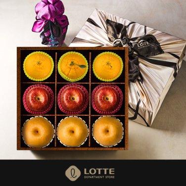名品 사각박스 사과,배,한라봉 VIP 혼합선물세트