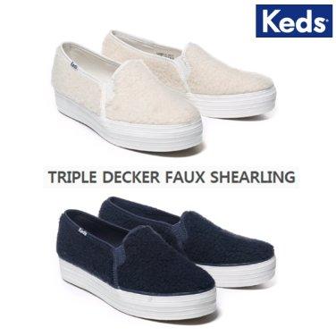 케즈 TRIPLE DECKER FAUX SHEARLING(트리플 데커 폭스 쉐어링외2종)WF58491