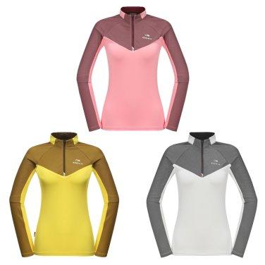 RHEA (레아) 여성 짚업 티셔츠 (DWU18214)