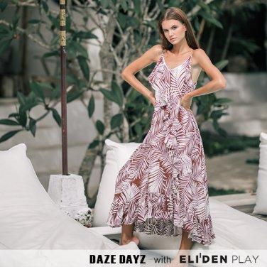 [데이즈데이즈] DAZE DAYZ SIENNA RUFFLE DRESS (D9M156)