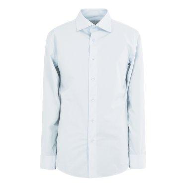 블루 와이드카라  스판기본셔츠(LGS31405)GD