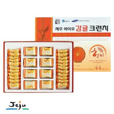 ◆제주바이오 감귤 현미크런치(대) 44개입(176g) / 무료배송