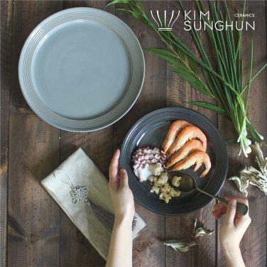 플레이트M : 데일리 중사이즈 접시, 24cm