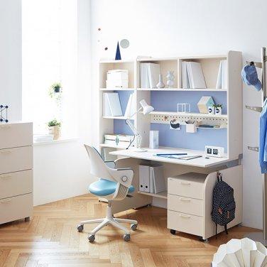 일룸 링키 서랍형 책상세트 + 시디즈 링고의자