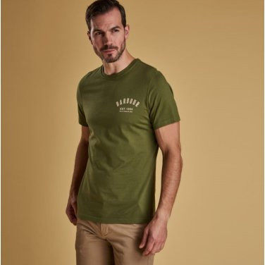 Preppy Tee 프레피 티셔츠 올리브(BAI1MTS0502OL39)