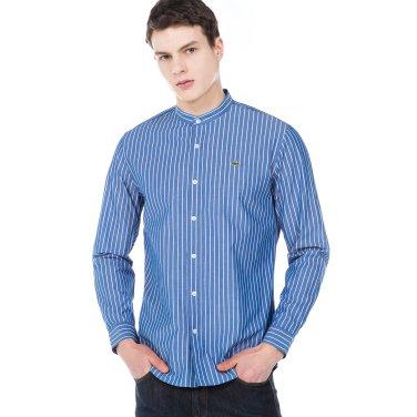 (남성) 스트라이프 헨리넥 레귤러핏 셔츠(CH151E-19A_CC3)