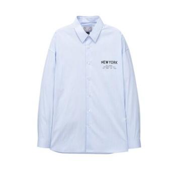 블루 이그나시 스트라이프 셔츠 JNSH0B601B2