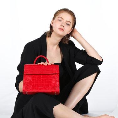 [록체] Bella Tote Bag Red
